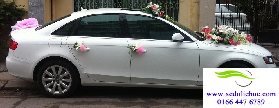 thuê xe cưới ở huế