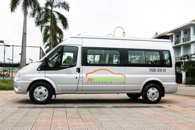 dịch vụ thuê xe 16 chỗ huế