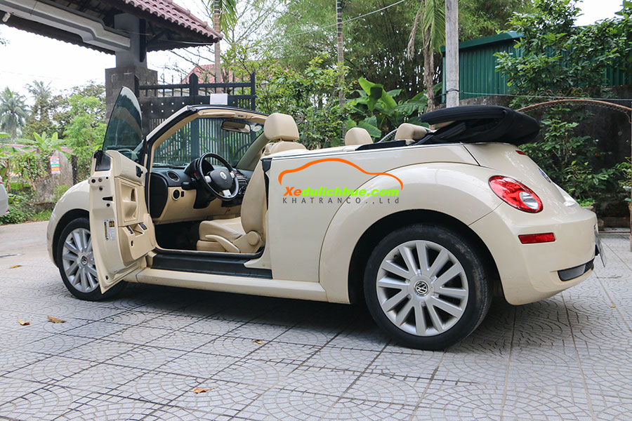 thuê xe ô tô mui trần ở huế