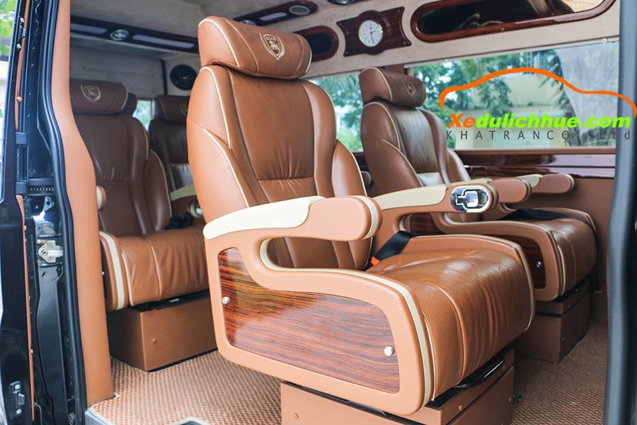 xe limousine cho thuê ở huế