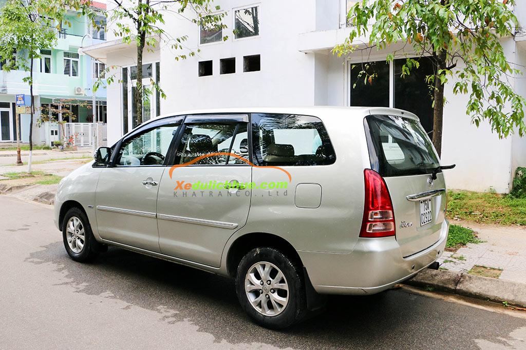 Dịch vụ thuê xe 7 chỗ Đà Nẵng chất lượng cao