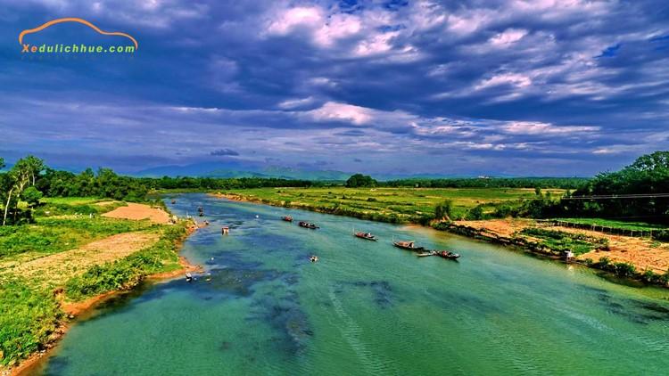Sông Bến Hải Quảng Trị