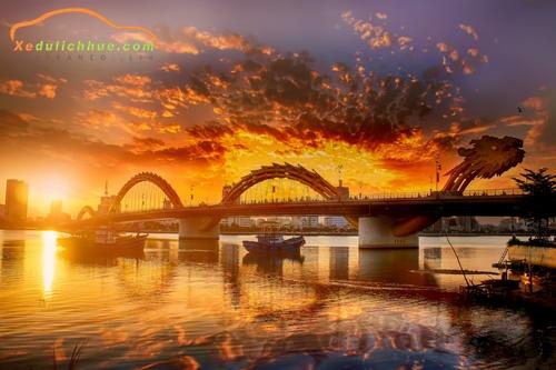 Hình ảnh cầu Rồng Đà Nẵng