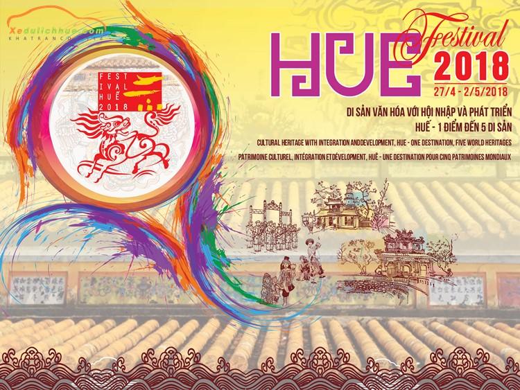 """Festival Huế 2018: """"Di sản Văn hóa với hội nhập và phát triển Huế – 1 điểm đến 5 di sản"""""""