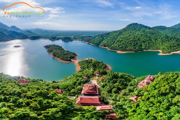 Thiền viện Trúc Lâm Huế cảnh quan thiên nhiên làm say đắm lòng người