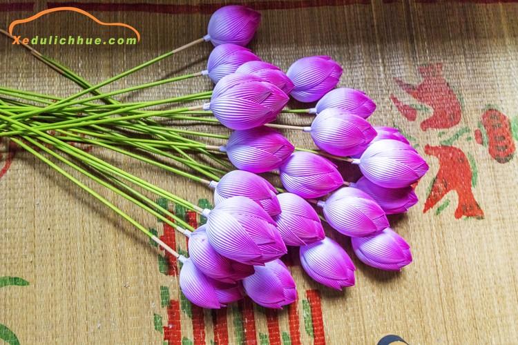 Rực rỡ sắc màu làng hoa giấy Thanh Tiên 400 năm tuổi