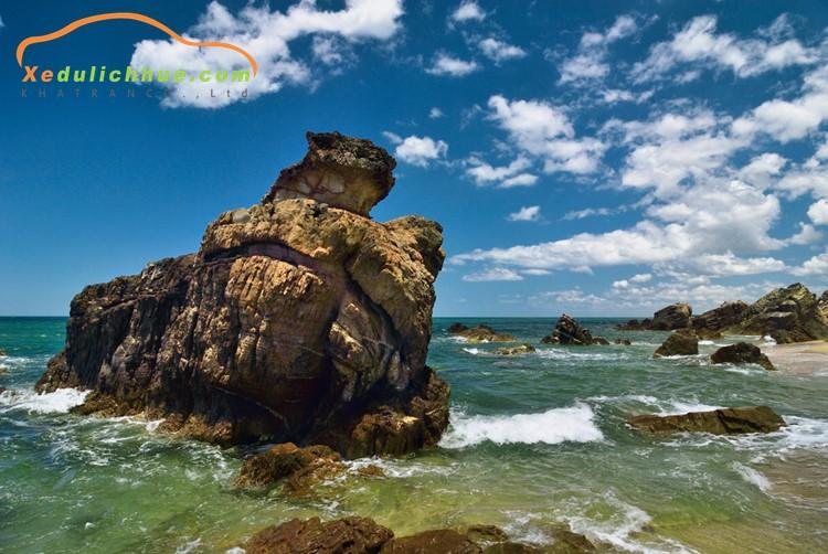 Bãi đá Nhảy, biển Nhật Lệ