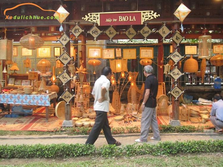 làng nghề đan lát bao la