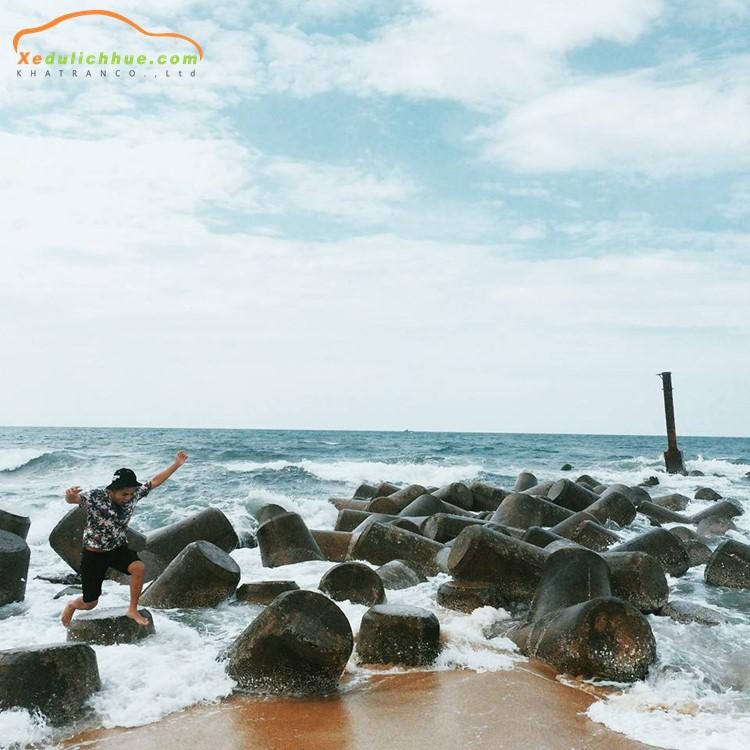 review cảnh dương beach