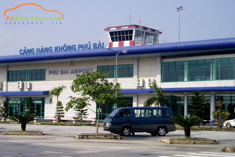 sân bay huế mở lại