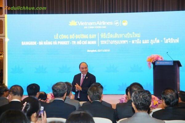 Vietnam airline công bố đường bay bangkok - đà nẵng