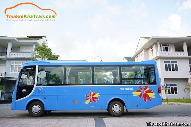 Cho thuê xe 29 chỗ tại Kha Trần