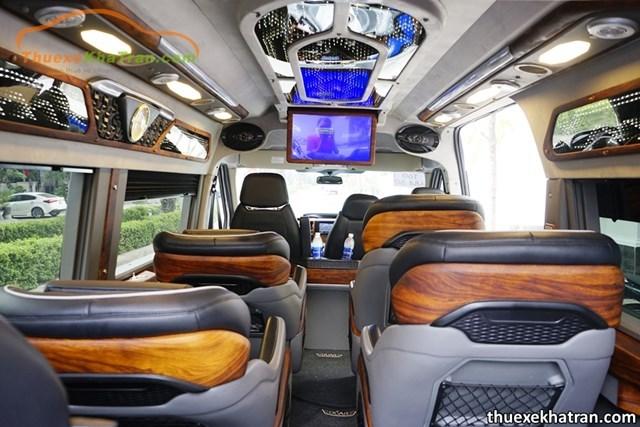Dòng xe Limousine thiết kế đầy đủ tiện nghi, sang trọng