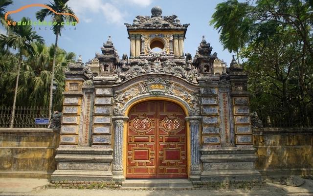 cổng chính cung an định
