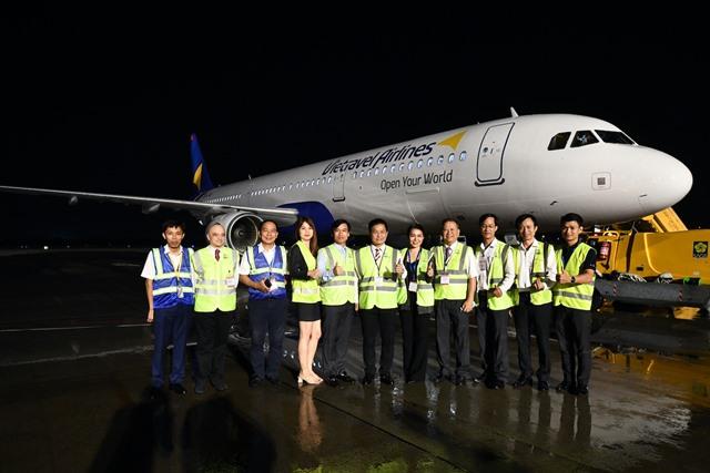 Chuyến bay thương mại đầu tiên sẽ được thực hiện vào tháng 12 bằng tàu bay Airbus A321
