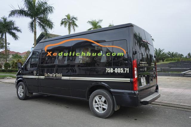 thuê xe limousine tại huế giá rẻ
