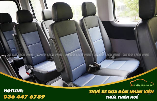 thuê xe Hyundai Solati đưa đón nhân viên tại Huế